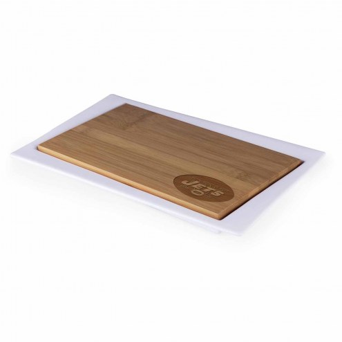New York Jets Enigma Cutting Board & Serving Tray