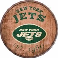 """New York Jets Established Date 24"""" Barrel Top"""