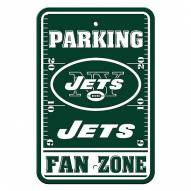 New York Jets Fan Zone Parking Sign