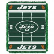 New York Jets Field Baby Blanket