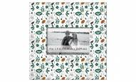 """New York Jets Floral Pattern 10"""" x 10"""" Picture Frame"""
