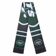 New York Jets Colorblock Big Logo Scarf