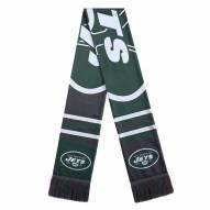 New York Jets Colorblock Big Logo Scarf