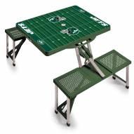 New York Jets Folding Picnic Table