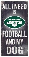 New York Jets Football & My Dog Sign