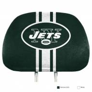 New York Jets Full Print Headrest Covers