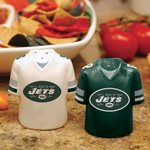 New York Jets Gameday Salt and Pepper Shakers
