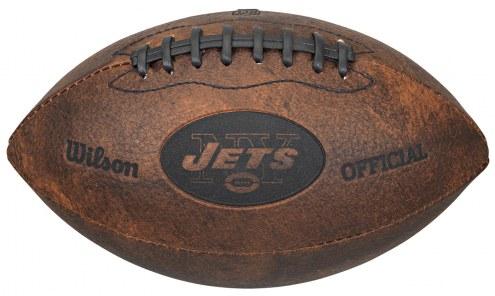 New York Jets Vintage Throwback Football