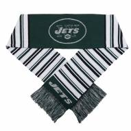 New York Jets Glitter Stripe Scarf