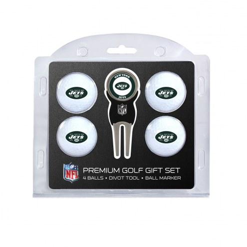 New York Jets Golf Ball Gift Set