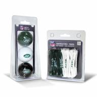 New York Jets Golf Ball & Tee Pack