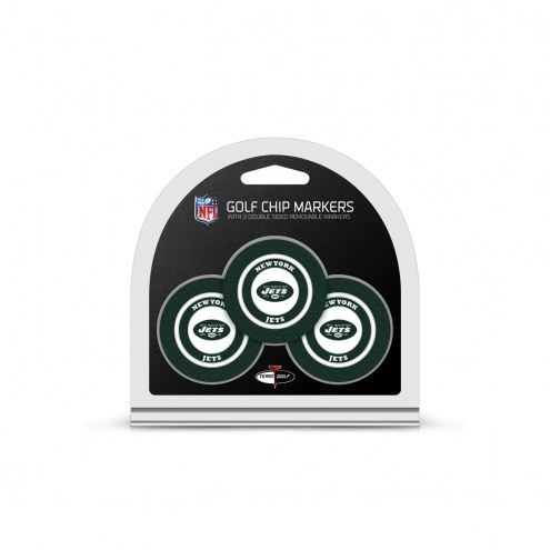 New York Jets Golf Chip Ball Markers