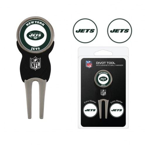 New York Jets Golf Divot Tool Pack