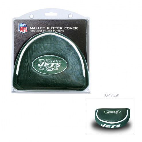New York Jets Golf Mallet Putter Cover