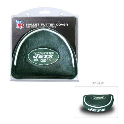 New York Jets Golf Mallet Putter Cover
