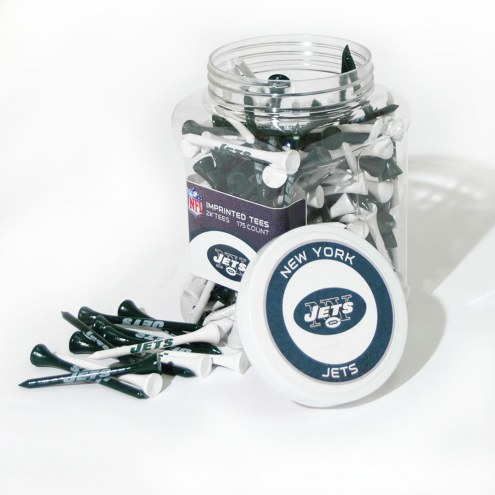 New York Jets 175 Golf Tee Jar