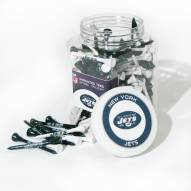 New York Jets 175 Golf Tee Jar