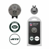 New York Jets Hat Clip & Marker Set