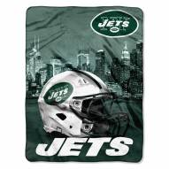 New York Jets Heritage Silk Touch Blanket