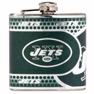 New York Jets Hi-Def Stainless Steel Flask