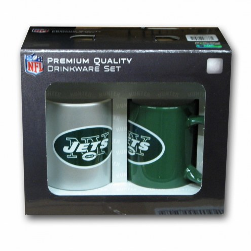 New York Jets Home & Away Coffee Mug