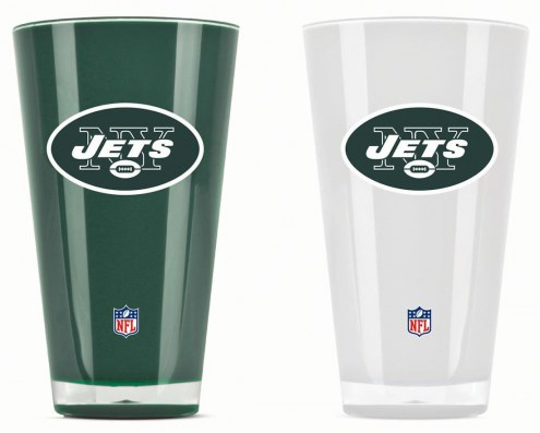 New York Jets Home & Away Tumbler Set