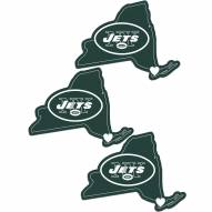 New York Jets Home State Decal - 3 Pack