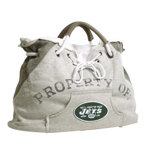 New York Jets Hoodie Tote Bag