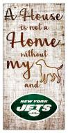 New York Jets House is Not a Home Sign