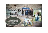 New York Jets I Love My Family Clip Frame