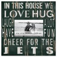 """New York Jets In This House 10"""" x 10"""" Picture Frame"""