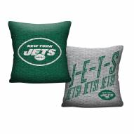 New York Jets Invert Woven Pillow