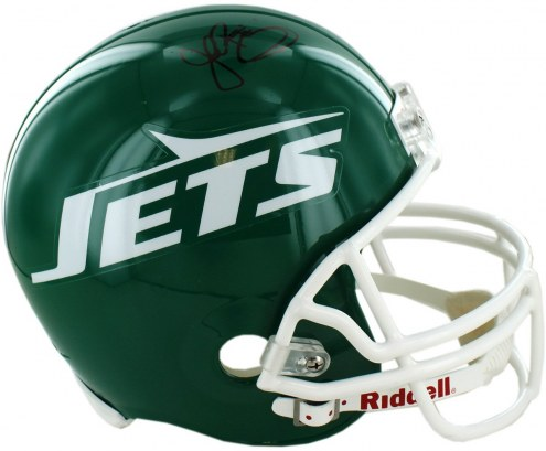 New York Jets John Riggins Signed Authentic Green Throwback 78-89 Helmet