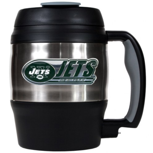 New York Jets Jumbo 52 oz. Travel Mug