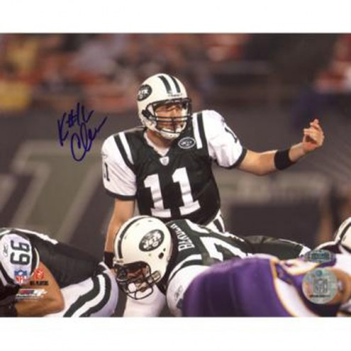 "New York Jets Kellen Clemens Over Center vs. Vikings Signed 16"" x 20"" Photo"