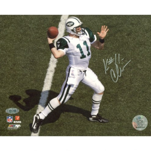 "New York Jets Kellen Clemens Overhead Passing Signed 16"" x 20"" Photo"