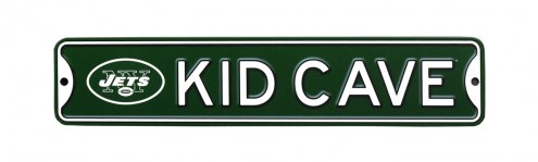 New York Jets Kid Cave Street Sign