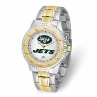 New York Jets Competitor Two-Tone Men's Watch