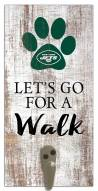 New York Jets Leash Holder Sign
