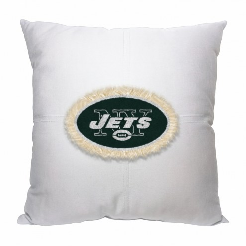 New York Jets Letterman Pillow