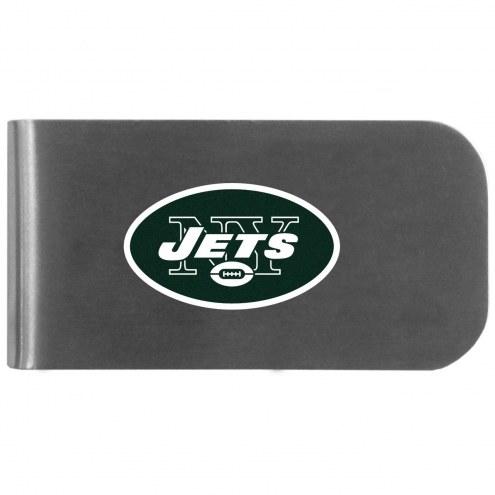 New York Jets Logo Bottle Opener Money Clip