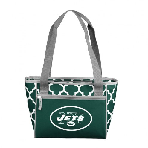 New York Jets 16 Can Cooler Tote