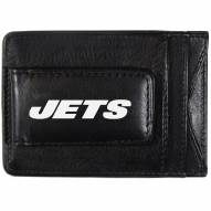 New York Jets Logo Leather Cash and Cardholder