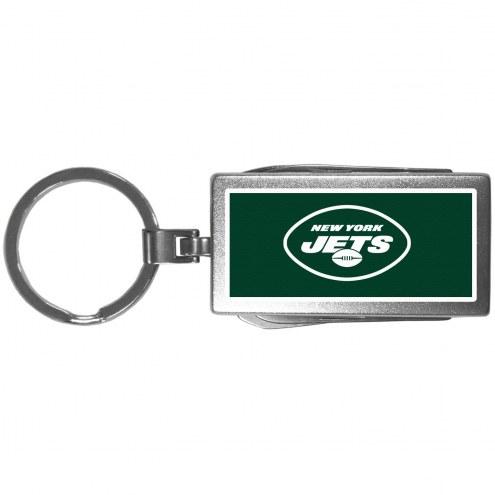 New York Jets Logo Multi-tool Key Chain