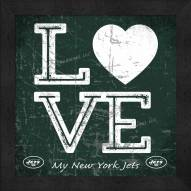 New York Jets Love My Team Color Wall Decor