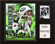 "New York Jets Mark Sanchez 12 x 15"" Player Plaque"