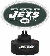 New York Jets Team Logo Neon Light