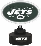 New York Jets Team Logo Neon Light