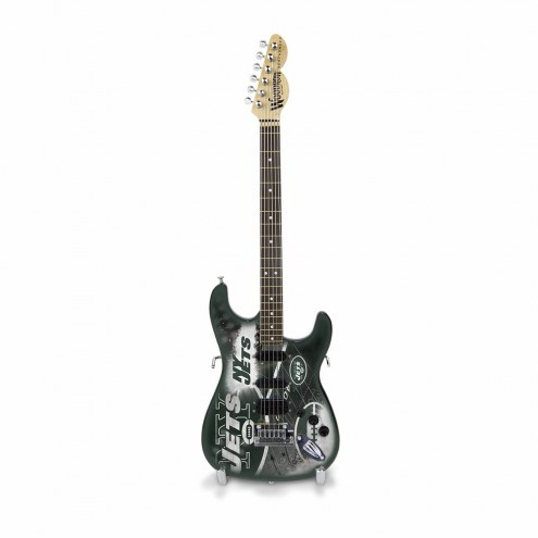 New York Jets Mini Collectible Guitar