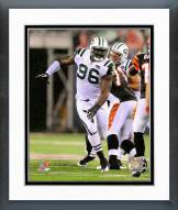 New York Jets Muhammad Wilkerson Action Framed Photo